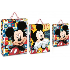 Bolsa papel regalo Disney Mickey Mediana