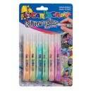 Glitter  Glue  Blister 6 pzas. Pastel Colours